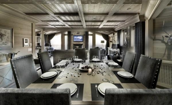 60 Einrichtungsideen, Dekorationen und Möbel im Chalet-Stil - esszimmer chalet
