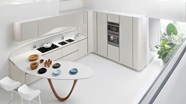 Moderne Einbaukuche Farbe Fronten die moderne einbauküche u2013 - moderne einbaukuche besticht durch minimalistische asthetik