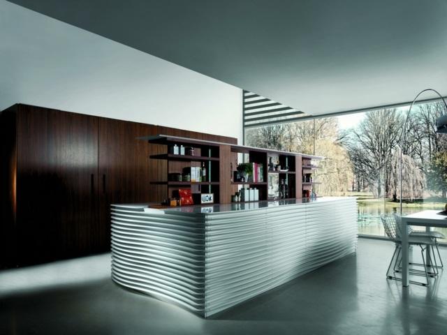 Küche Aus Holz U2013inspirierende Ideen Für Module Im Natur Look   Kuche  Aus Holz Ideen