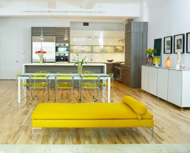 Küchengestaltung mit Farbe u2013 20 coole Ideen und Tricks - kuchengestaltung mit farbe 20 ideen tricks