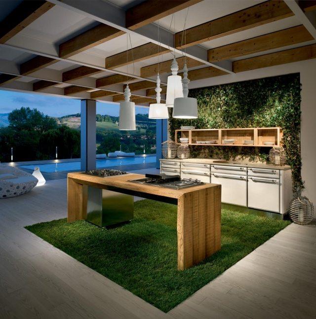 Moderne Küche Aus Massivholz Majestic Von Lu0027Ottocento   Moderne Kuchen  Massivholz