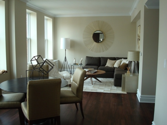 Cozy Wohnzimmereinrichtung Ideen Brauntone Sind Modern