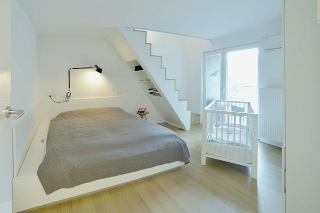 Wohnung einrichten u2013 Wohnideen für Zimmer mit Dachschräge - schlafzimmer dachschrage einrichten