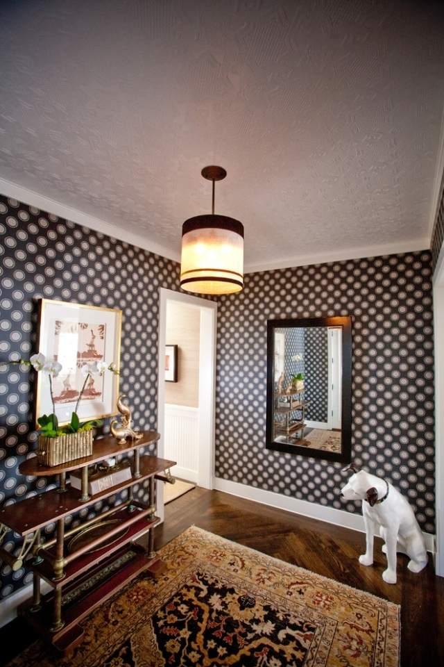 Deco Wallpaper 3d Wandgestaltung Im Flur Und In Der Diele Kreative Ideen