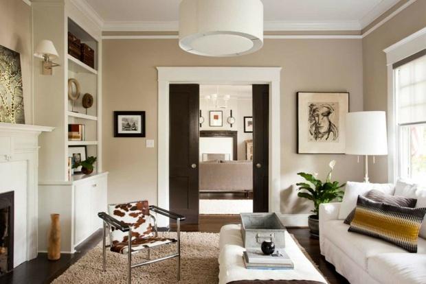 Farben für Wohnzimmer u2013 55 tolle Ideen für Farbgestaltung - wande streichen farbe