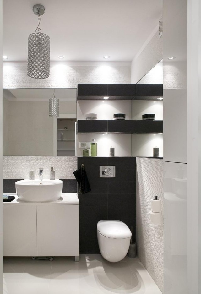 Badezimmer modern einrichten - 31 inspirierende Bilder - weies badezimmer modern gestalten