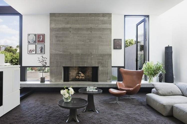 Stunning Wohnzimmer Schwarz Weis Braun Einrichten Photos - House - weis braun einrichten