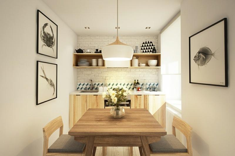 Kleine Küchen Optimal Einrichten | Smart Und Schön ...