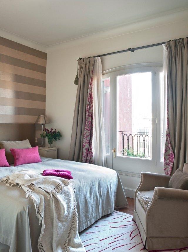 31 Ideen für Schlafzimmergardinen und Vorhänge - schlafzimmer gardinen ideen