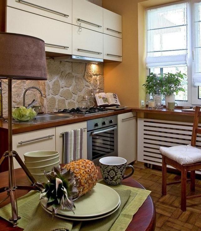 Beautiful Einrichtung Kleine Küche Contemporary - House Design - eckschrank kueche einrichtung ideen