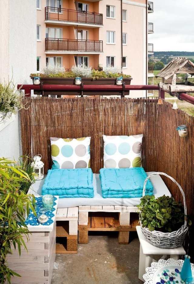 Tipps zur Balkongestaltung - Kleinen Balkon pfiffig dekorieren - mini balkon gestalten