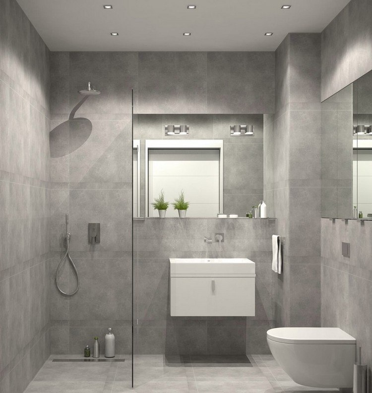 Kleines Bad einrichten - 51 Ideen für Gestaltung mit Dusche - badezimmer nur mit dusche