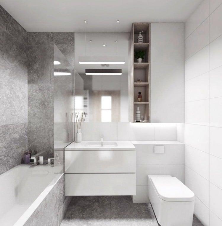 Kleines Bad einrichten - 51 Ideen für Gestaltung mit Dusche - badezimmer 5 quadratmeter