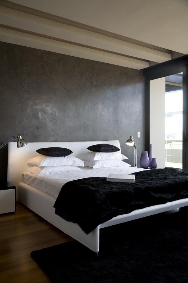 65 Wand streichen Ideen - Muster, Streifen und Struktureffekte - schlafzimmer wie streichen