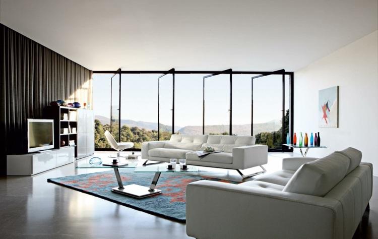 Wohnzimmer modern einrichten - 52 tolle Bilder und Ideen - inneneinrichtung wohnzimmer modern