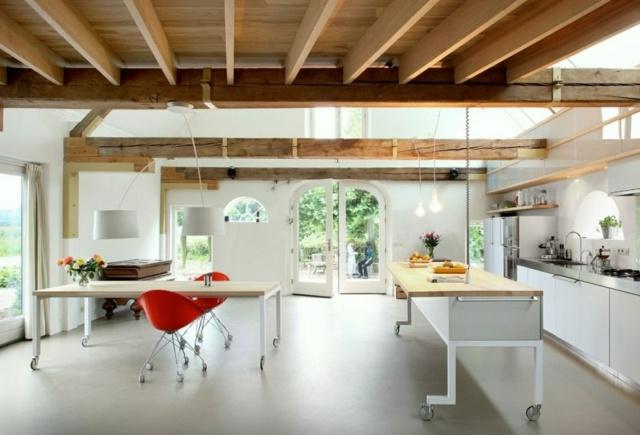 Schön Kücheninsel Auf Rollen Form Und Funktion Moderne Kuche Mit Dynamik  Modularitat Und Eleganz In Einem