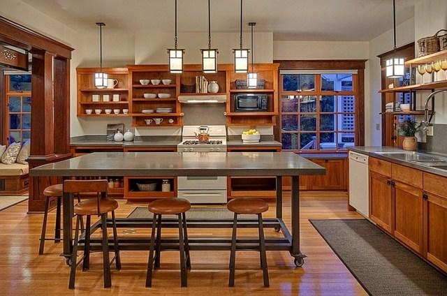 Kücheninsel Auf Rollen Form Und Funktion   Moderne Kochinsel Kombiniert  Funktionalitat Und Design Einem