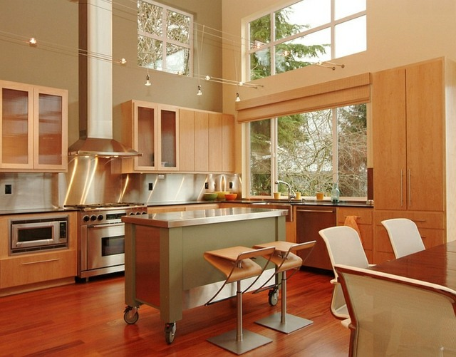 emejing k cheninsel auf rollen photos house design ideas. Black Bedroom Furniture Sets. Home Design Ideas