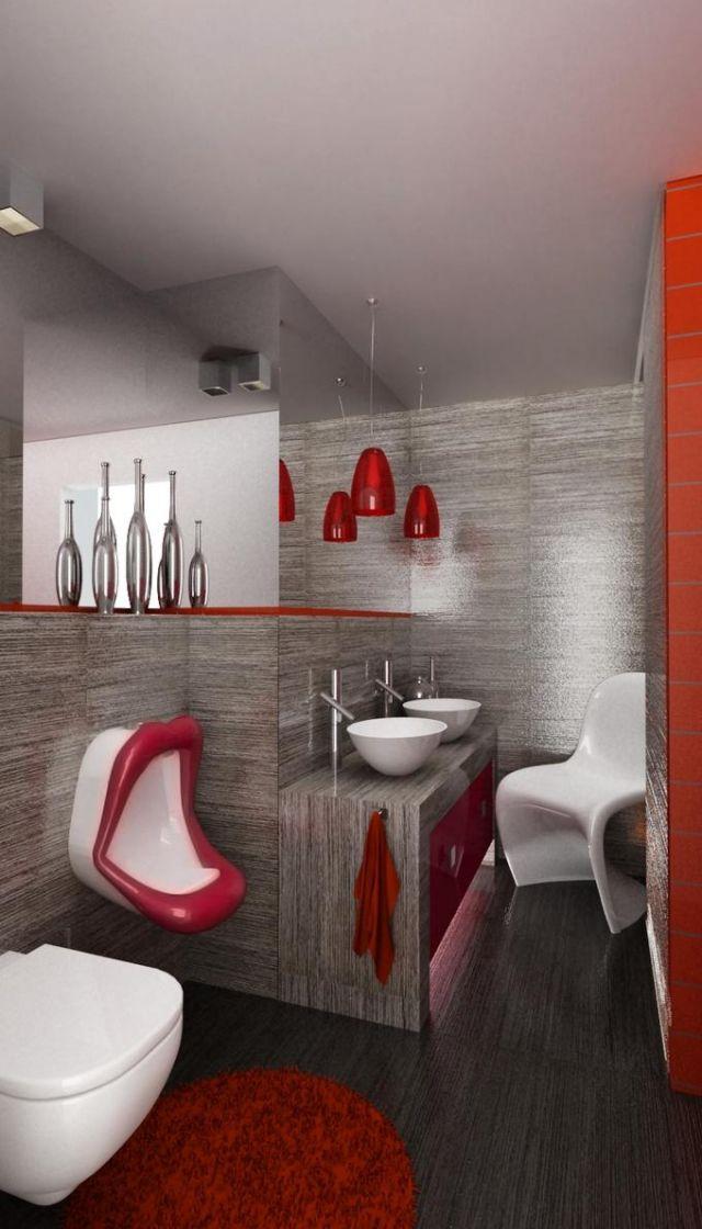 Moderne Badezimmer Einrichtungen 30 Bilder Und Ideen Modernes Badezimmer  Grau .