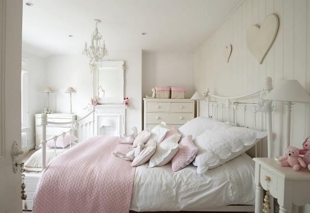 55 Schlafzimmer Ideen - Gestaltung im Shabby Chic-Look - gestaltung schlafzimmer ideen