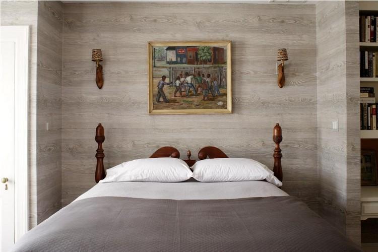 3d Wallpaper For Master Bedroom Tapete In Holzoptik Zaubert Pure Gem 252 Tlichkeit Im Raum
