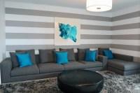 65 Wand streichen Ideen - Muster, Streifen und Struktureffekte