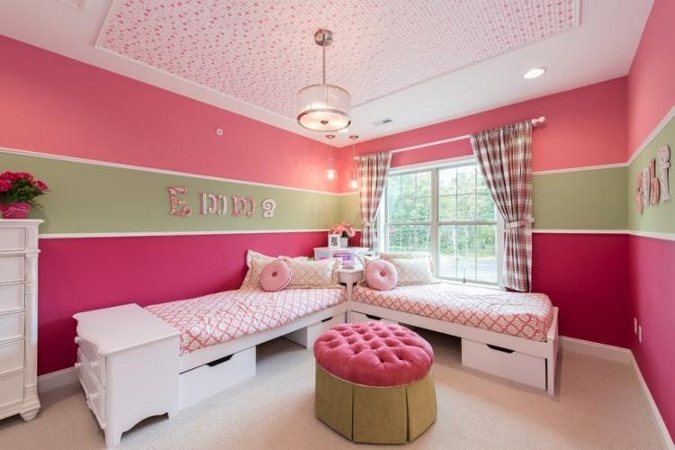 65 Wand streichen Ideen - Muster, Streifen und Struktureffekte - zimmer malen ideen