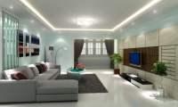 Wandfarbe Ideen und Farbkombinationen frs Wohnzimmer