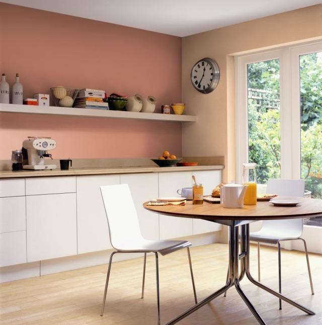 Welche Wandfarbe für Küche? - 55 gute Ideen und Beispiele - ideen kuche
