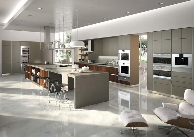 24 Design-Küchen von Top-Marken - die neuen Klassiker - design kuchen twelve hochfunktional