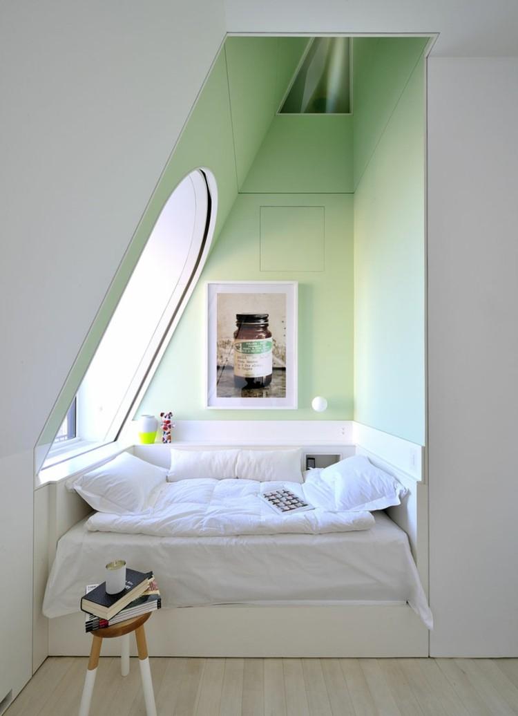schlafzimmer mit dachschrage gestalten wohnideen   node2009 ...