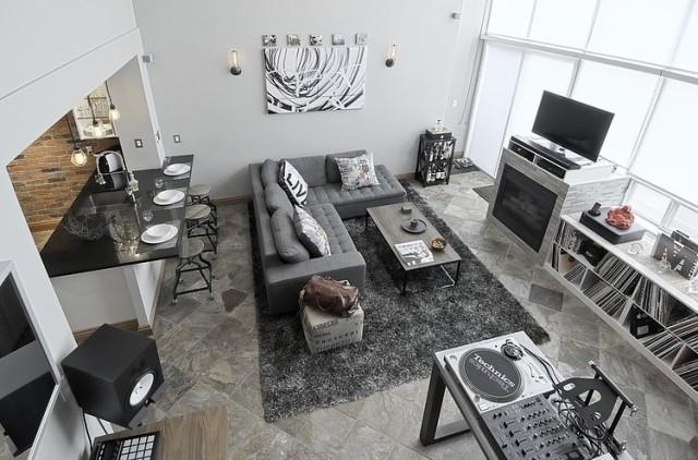 Ideen zum Wohnzimmer einrichten in neutralen Farben - schwarz im esszimmer ideen einrichtung