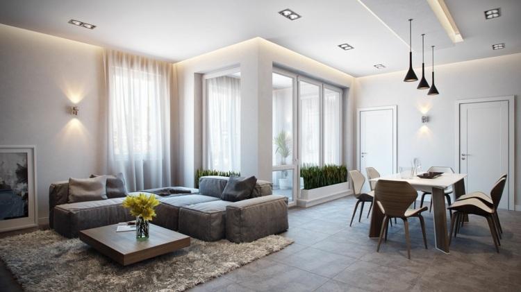 Wohnzimmer modern einrichten - 52 tolle Bilder und Ideen - wohnzimmer bilder modern