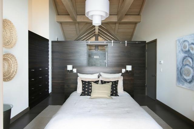Inspiration Zur Einrichtung Schlafzimmer Holzwand  KnutdCom
