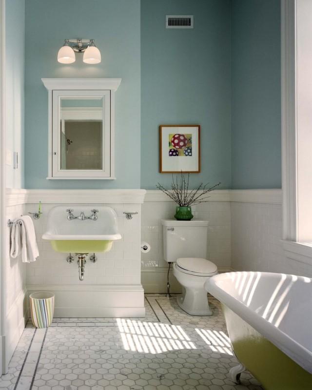 Vintage Bad Einrichtung Für Ein Besonderes Badeerlebnis   Badezimmer Retro