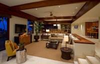 Wohnzimmer Design- das versunkene Zimmer