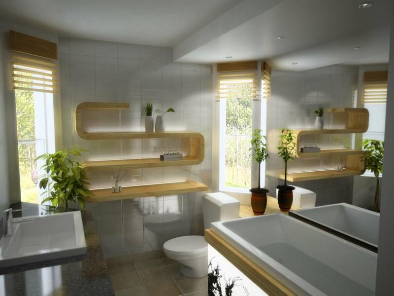 Modernes Badezimmer Holzdesign Toto Moderne Badezimmer Ideen   Badezimmer T  Form