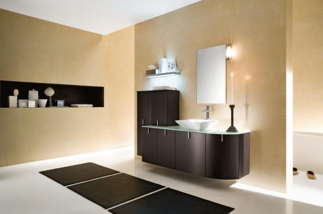 Amazing Moderne Badezimmer Bilder Die Sie Zum Trumen Bringen Badezimmer  Wand Verputzen With Wnde Im Bad Verputzen.