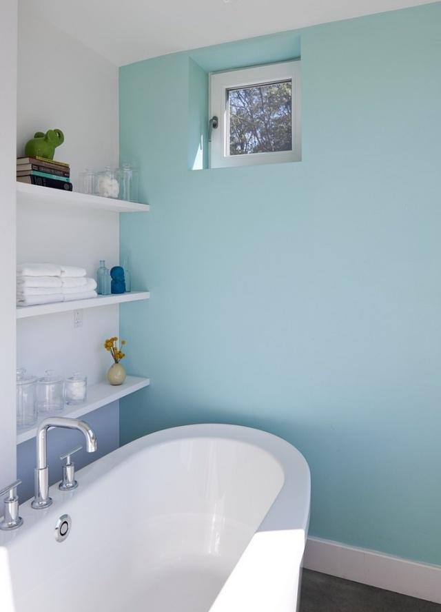 Bad streichen - Ist spezielle Farbe im Badezimmer notwendig? - ausenfarbe gegen innenfarbe
