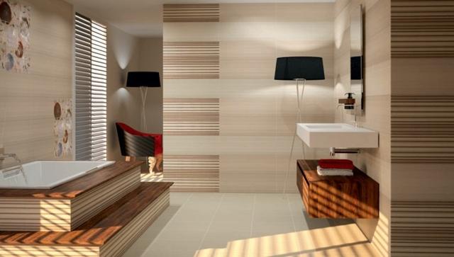 Moderne Badezimmer Fliesen Mit Muster 55 Bilder   Fliesenmuster Fr  Badezimmer