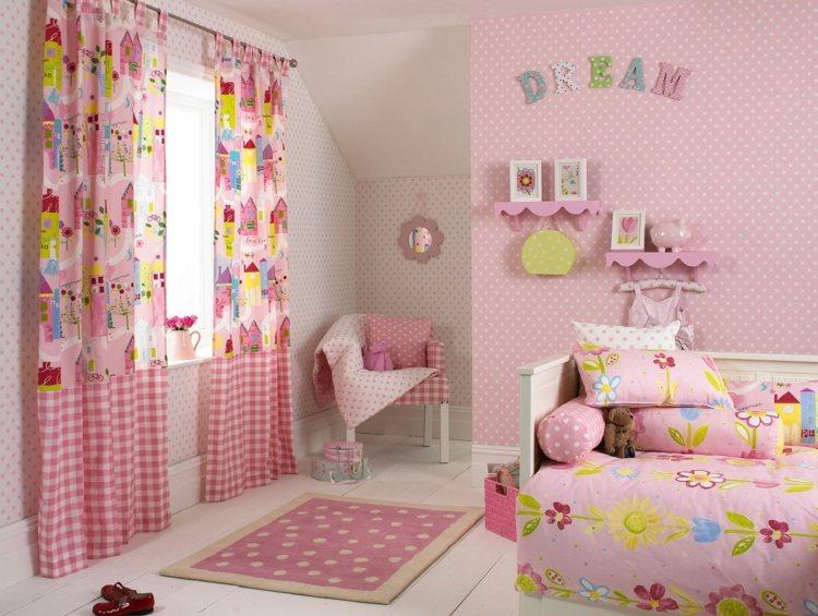 Farb- und Wandgestaltung im Kinderzimmer - 77 tolle Ideen - kinderzimmer tapete ideen