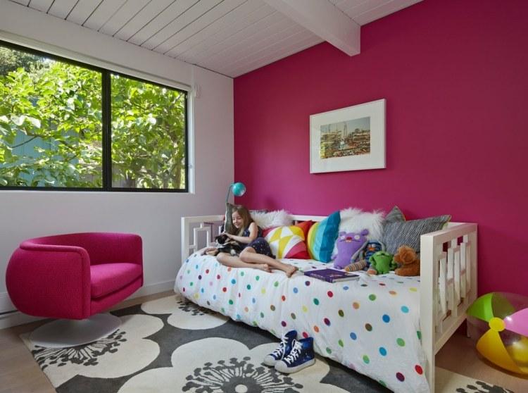 Farb- und Wandgestaltung im Kinderzimmer - 77 tolle Ideen - wandgestaltung farbe kinderzimmer