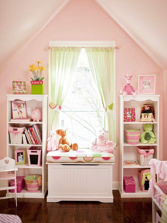 Farbgestaltung im Kinderzimmer - 55 Beispiele und Ideen - kinderzimmer streichen madchen