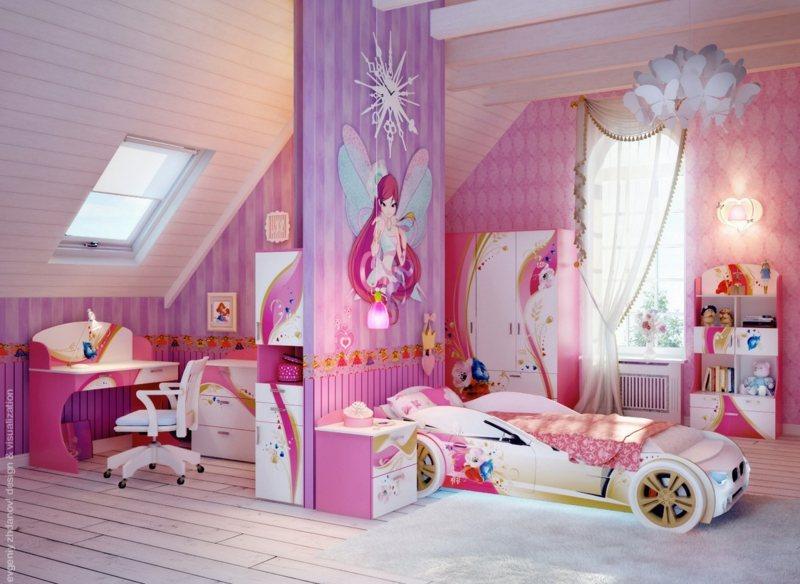 Vorhang Kinderzimmer Madchen ~ Speyedernet u003d Verschiedene Ideen - kinderzimmer blau mdchen
