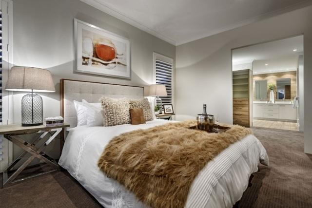 Schlafzimmer modern gestalten - 130 Ideen und Inspirationen - schlafzimmer weis braun modern