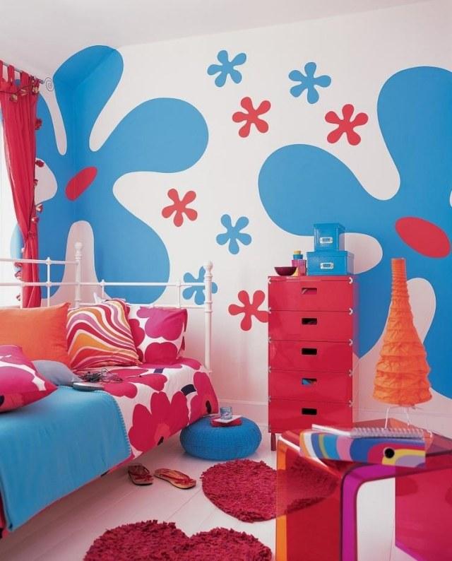 Farb- und Wandgestaltung im Kinderzimmer - 77 tolle Ideen - kinderzimmer blau mdchen