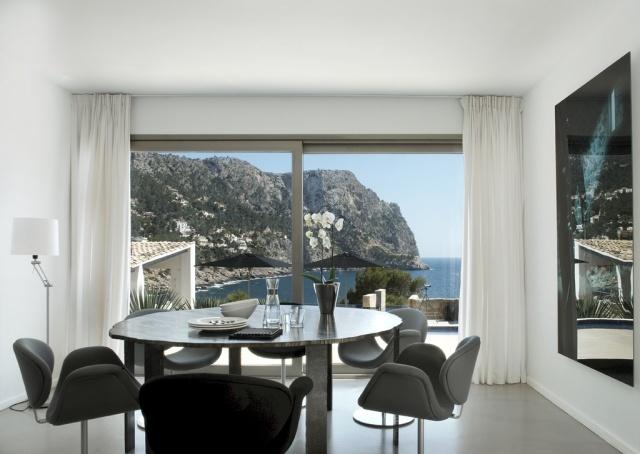 Best Esszimmer Design Schwarz Weis Kontraste Contemporary - House ...