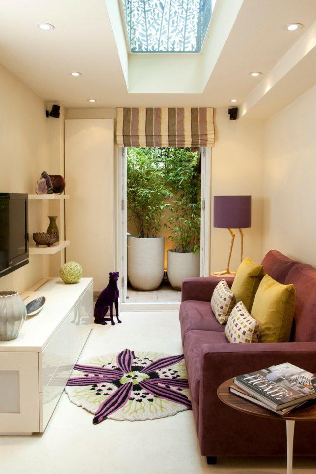Ideen für das kleine Wohnzimmer u2013 30 inspirierende Bilder - kleines wohnzimmer