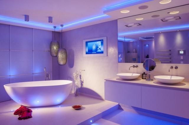 106 Badezimmer Bilder - Beispiele für moderne Badgestaltung - badezimmer leisten