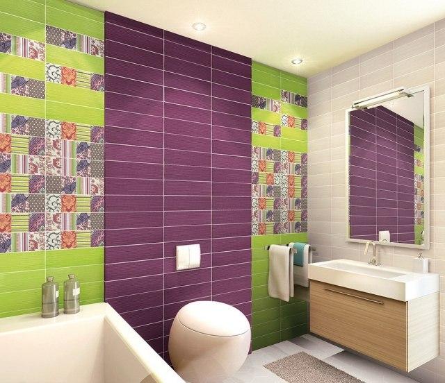 106 Badezimmer Bilder - Beispiele für moderne Badgestaltung - badezimmer fliesen holzoptik grun